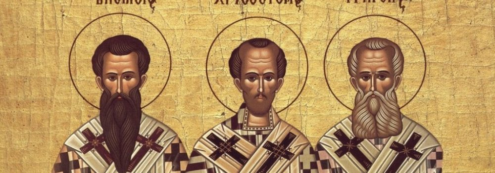 Three Holy Hierarchs-Greek Letters Day 2018