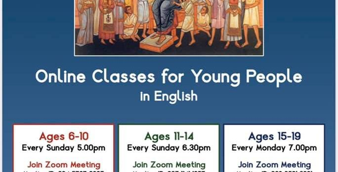 Online Classes for Young People by Greek Orthodox Archdiocese of Thyateira & Great Britain
